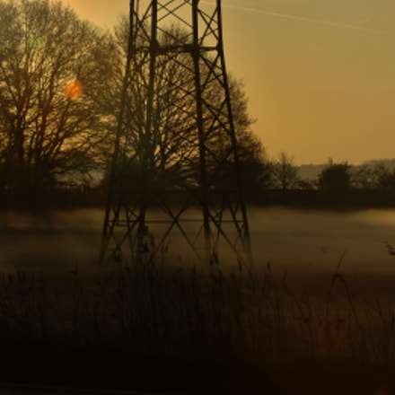 The Mist, Nikon D2XS, Sigma 70-200mm F2.8 EX APO IF HSM