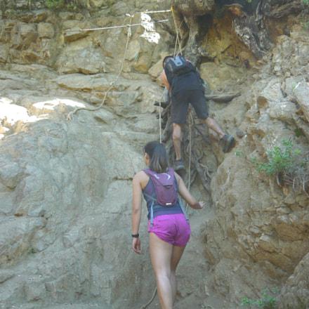 Obstacles encountered hiking 3, Panasonic DMC-LS80