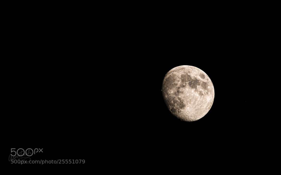 Photograph delight side of the moon by Ariel Patish on 500px