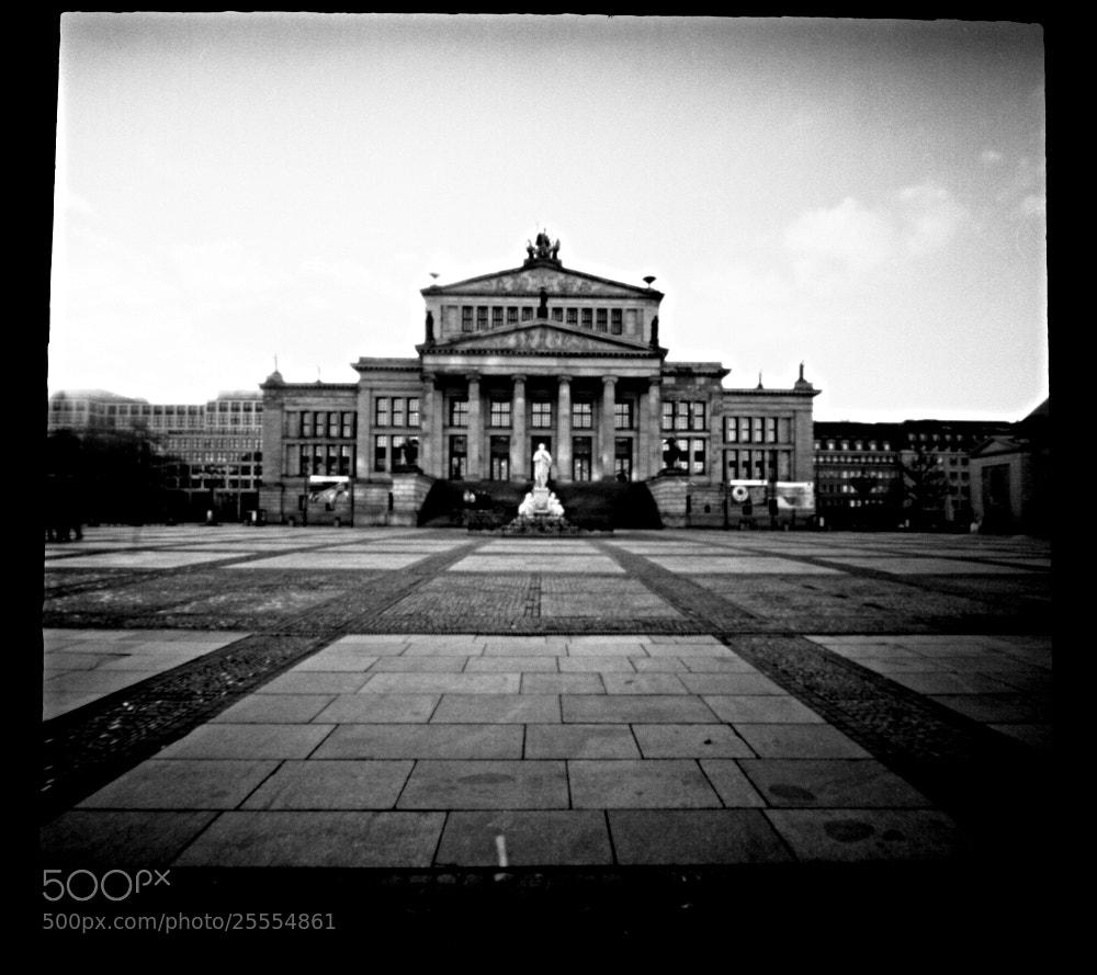 Photograph Konzerthaus - PinholeCamera by Christof Fröschl on 500px