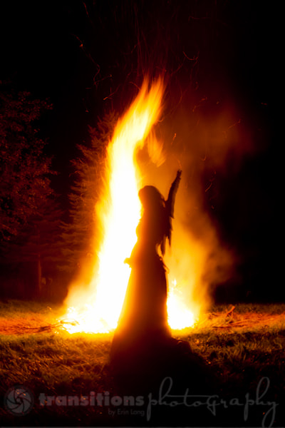 Photograph Peaceful Bonfire by Erin Lang on 500px
