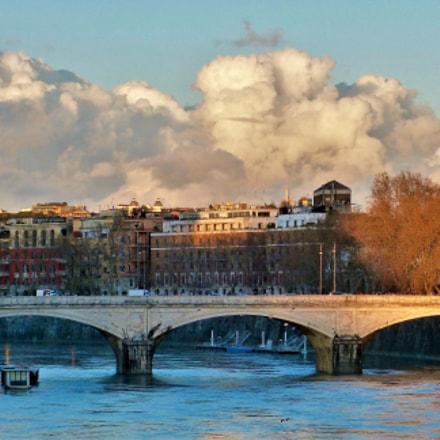 Nuvole su Roma , Panasonic DMC-FZ62