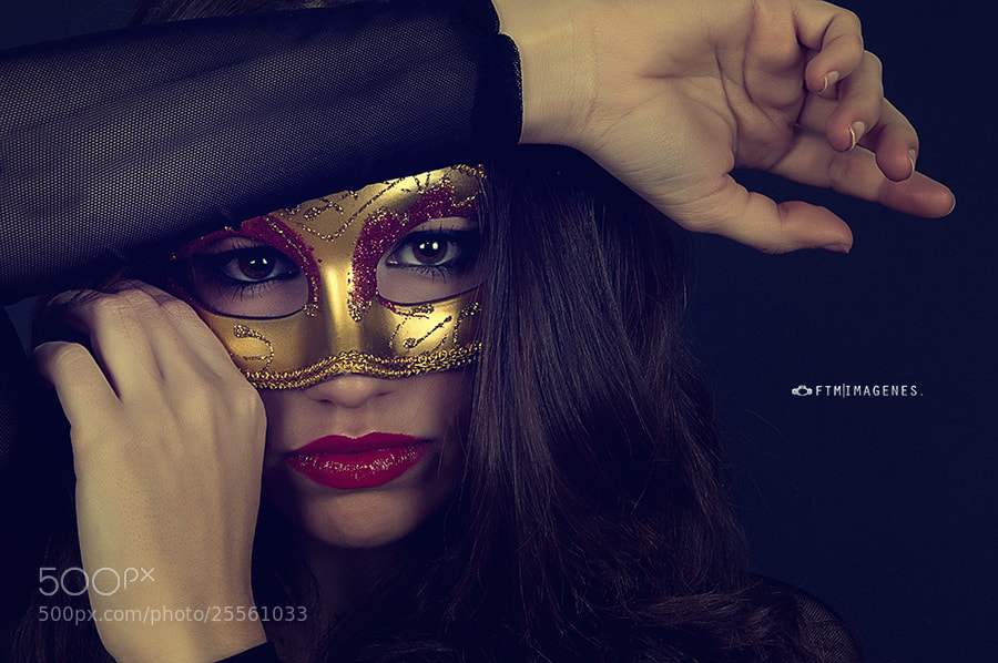Photograph Mask (Cris) by FTM Imagenes on 500px