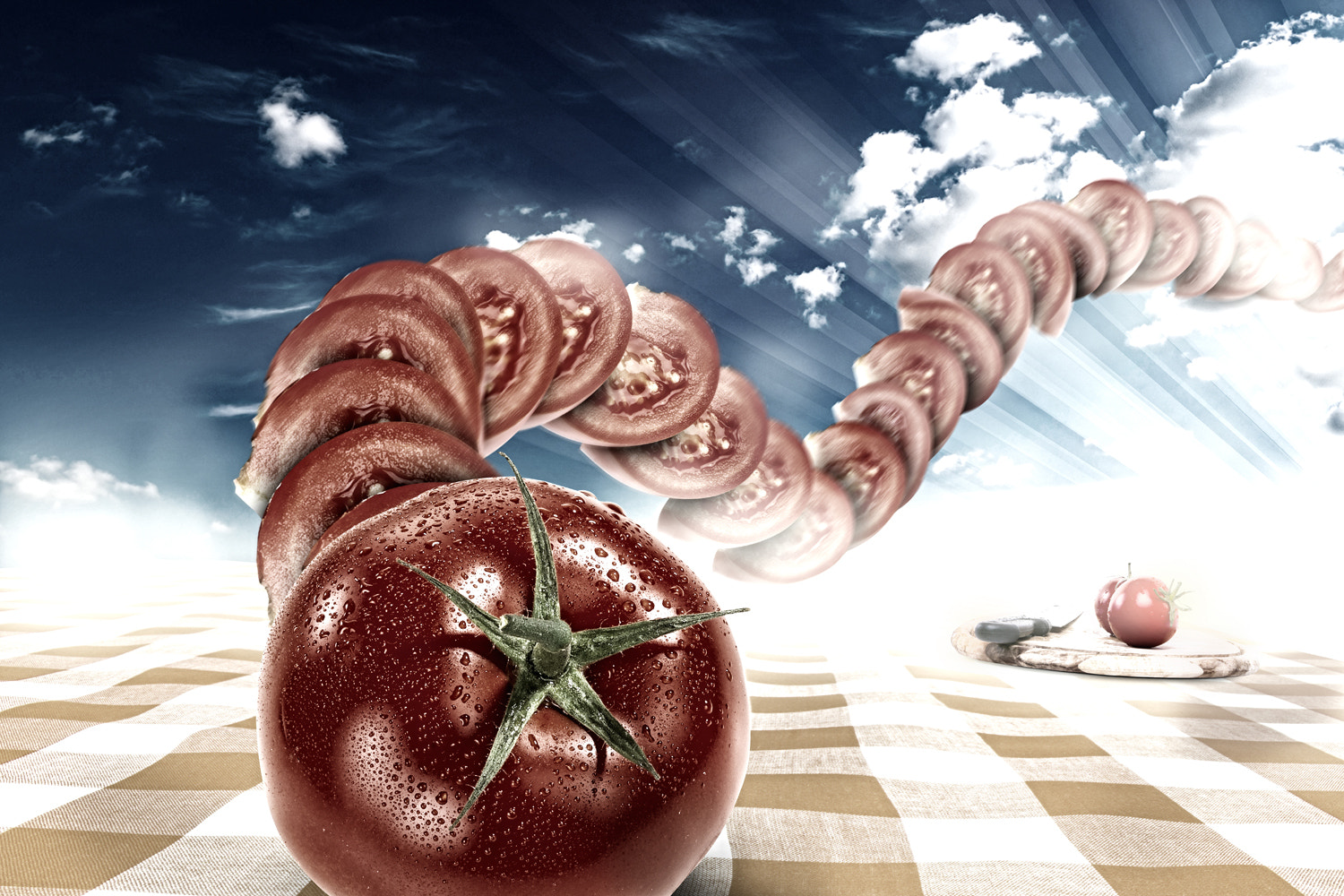 Photograph Dancing Food - Tomato by Markus Müller on 500px