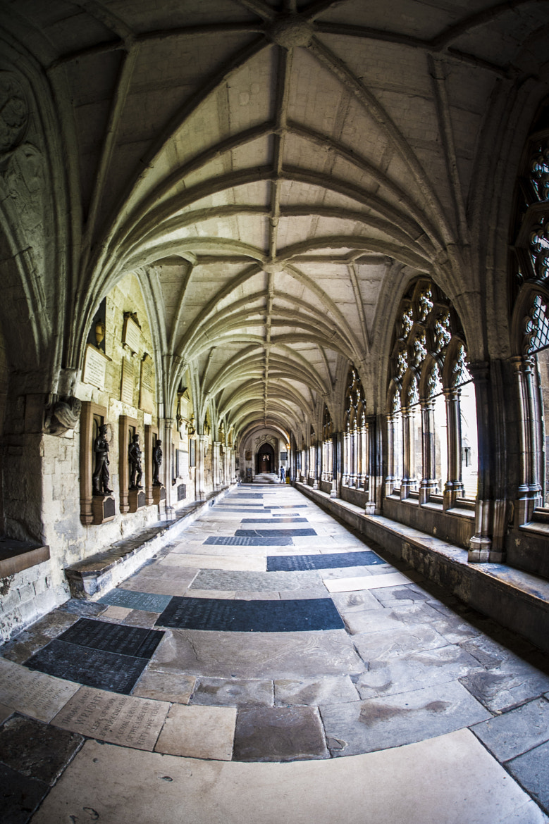 Photograph Westminster Cloisters by Chris Kench on 500px