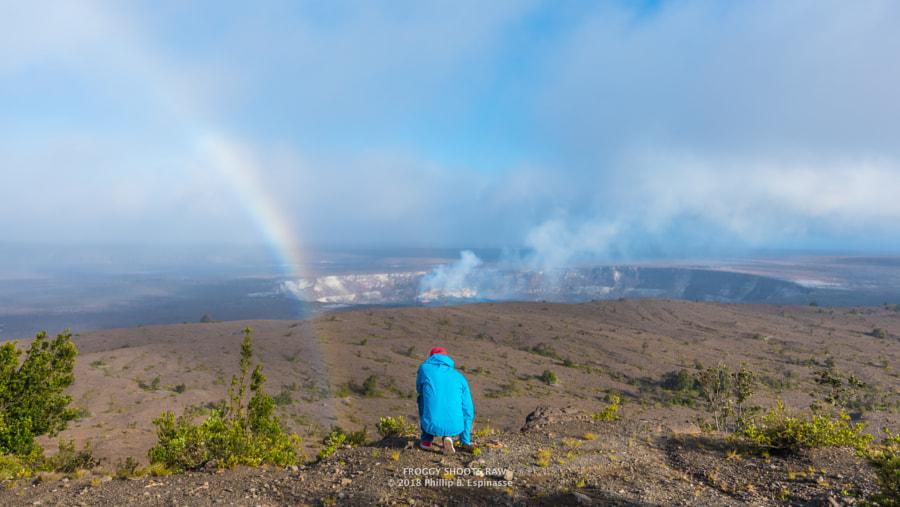Offering to Volcano Goddess Pele, автор — Phillip Espinasse на 500px.com