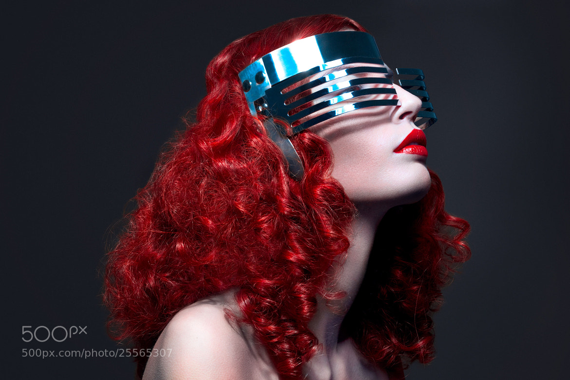 Photograph Red lips beauty by stefan bourson by stéfan bourson on 500px