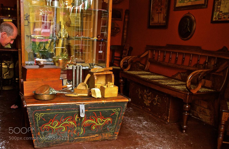 Photograph haunted antique shop by Danny du Plessis on 500px
