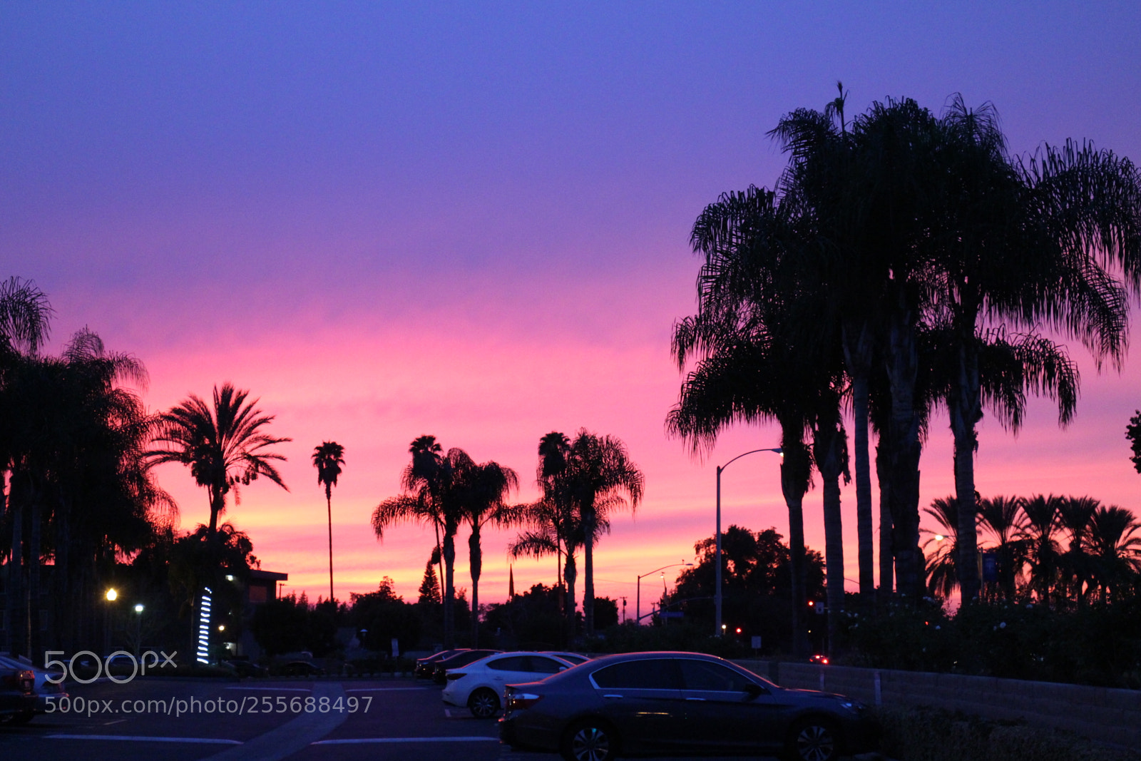 My California Sunset, Canon EOS M2, Canon EF-M 18-55mm f/3.5-5.6 IS STM