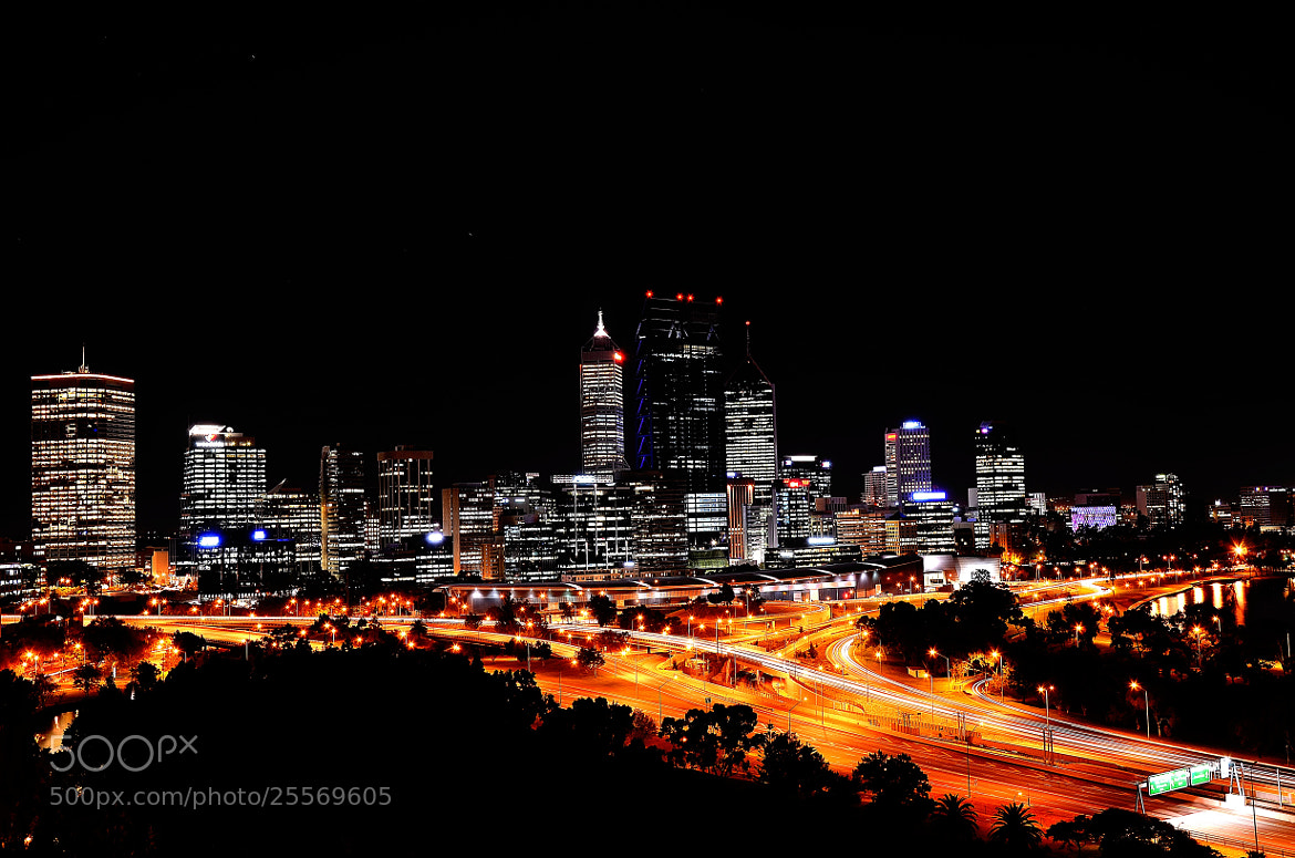 Photograph Perth @ Night by Sebastian Fast on 500px