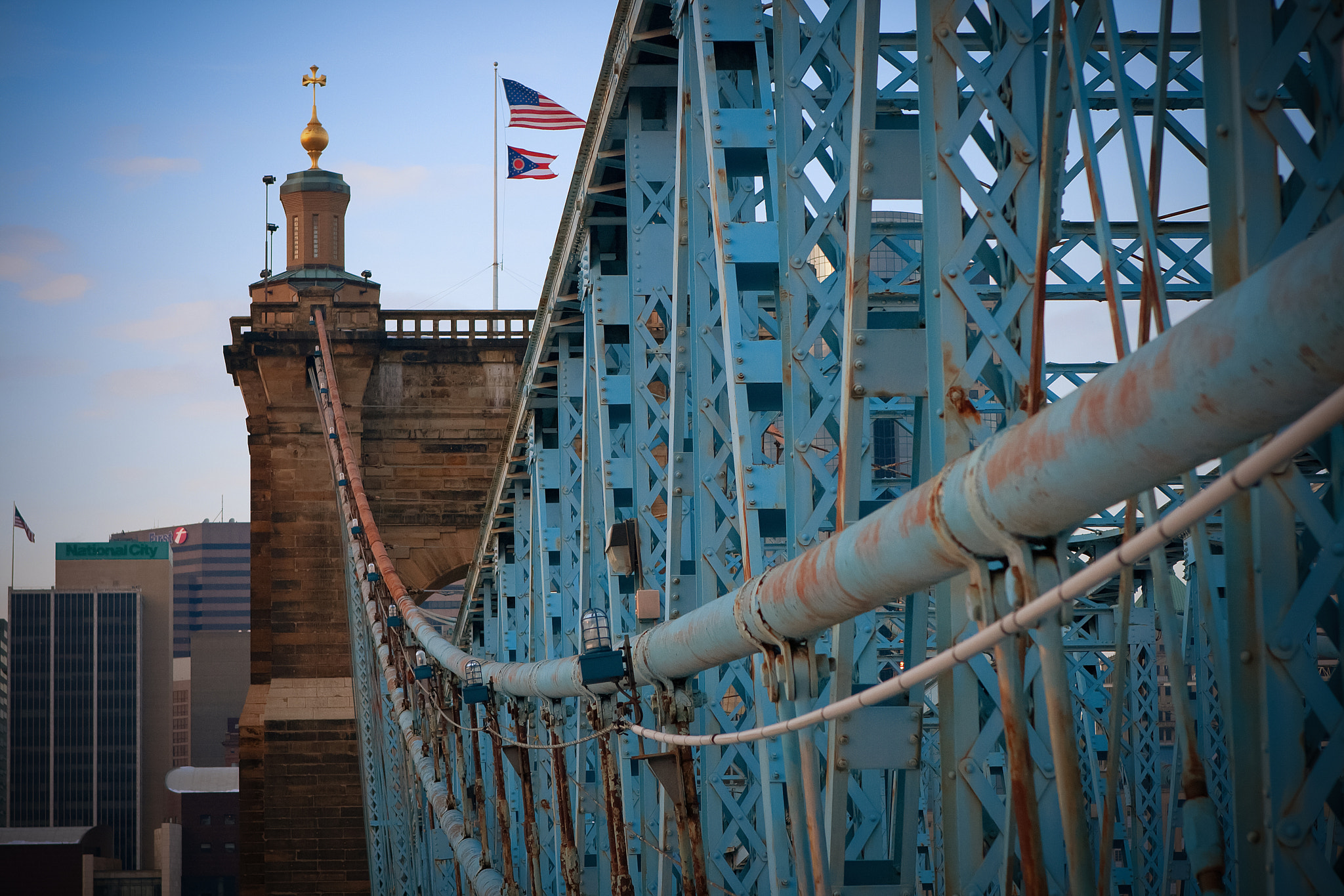 Photograph Roebling Bridge by Charles Carter on 500px