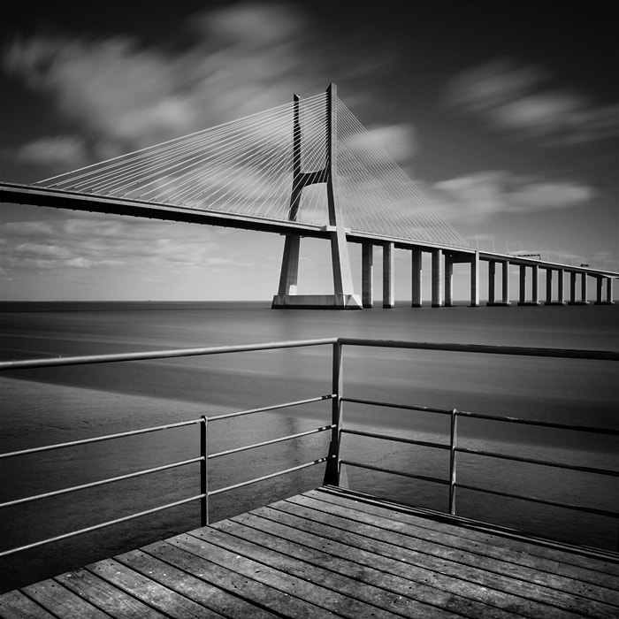 Photograph Vasco da Gama Bridge by Nina Papiorek on 500px
