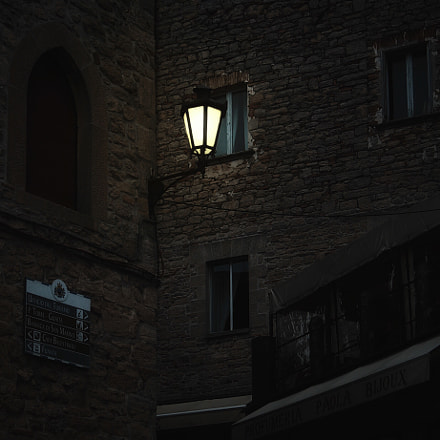 night in the castle, Canon POWERSHOT A560