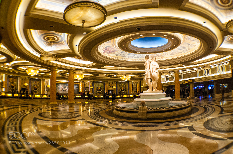 Photograph Caesar's Palace Lobby by Pratik  on 500px