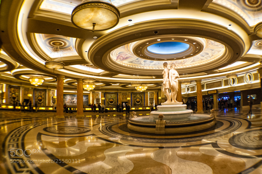 Photograph Caesar's Palace Lobby by Pratik Mhatre on 500px
