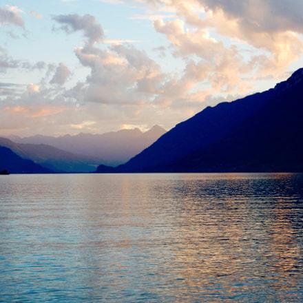 Sunset in Switzerland, Nikon COOLPIX S9700