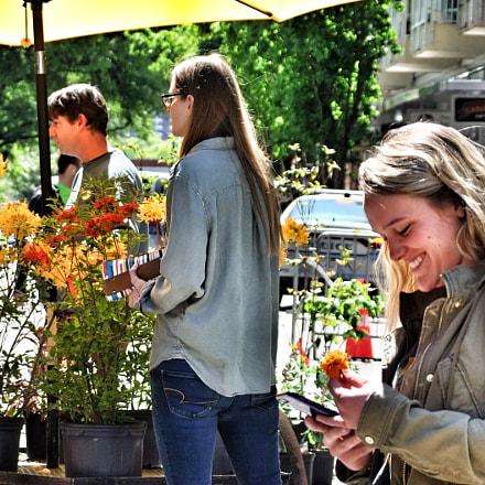 Flower market, Fujifilm FinePix S200EXR