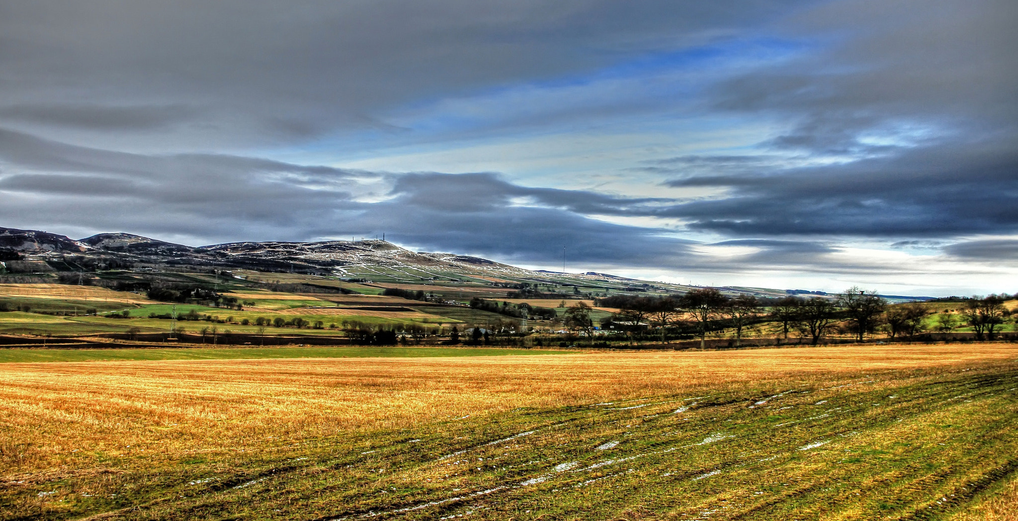 Photograph Sidlaws Hills by Hilda Murray on 500px