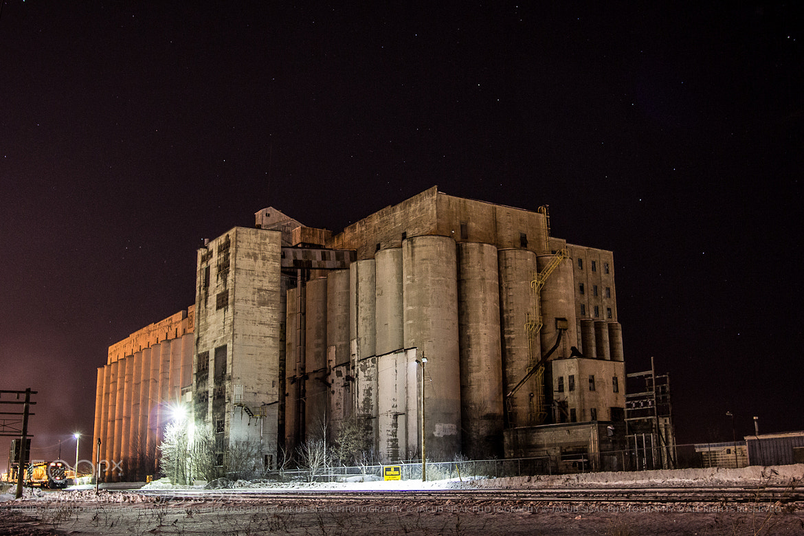 Photograph Old Grain Elevators by Jakub Šišák on 500px