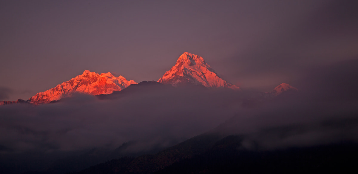Photograph Annapurna South by Davide Calgaro on 500px