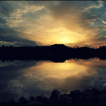 Abendstimmung im Allgäu, Nikon D700, AF-S VR Zoom-Nikkor 24-120mm f/3.5-5.6G IF-ED