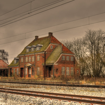 Abandoned railwaistation in Denmark, Nikon D300, AF Zoom-Nikkor 28-80mm f/3.3-5.6G