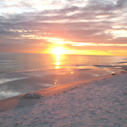 Fort Walton Beach Sunset, Canon POWERSHOT A620