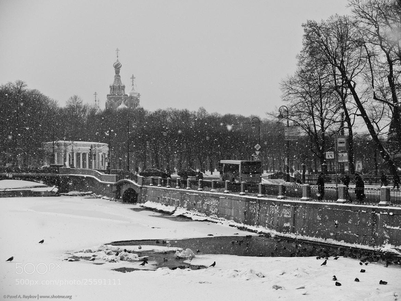 Photograph Panteleymonovsky Bridge by Pavel Raykov on 500px