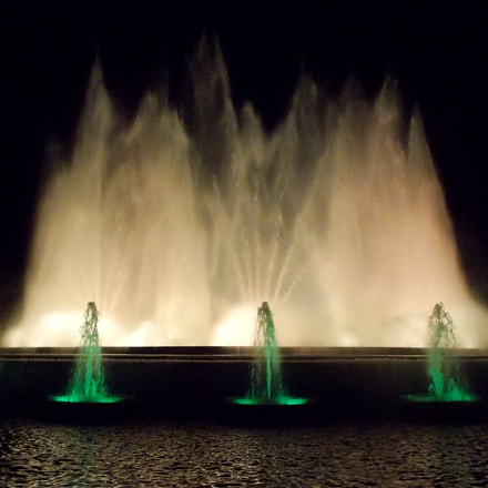 Фонтан, fountain, Nikon COOLPIX L27