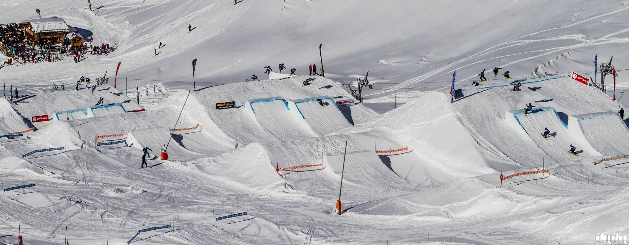 Photograph European cup slopestyle. Val Thorens by Romain Dudu Dujean on 500px