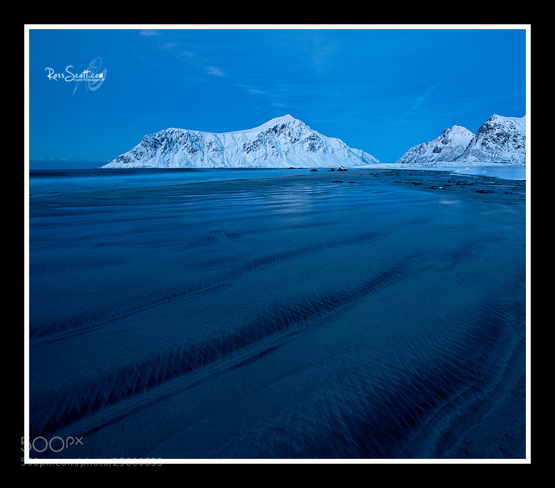 Photograph Skagsanden Blue, Lofoten , Norway by Ross Scott on 500px