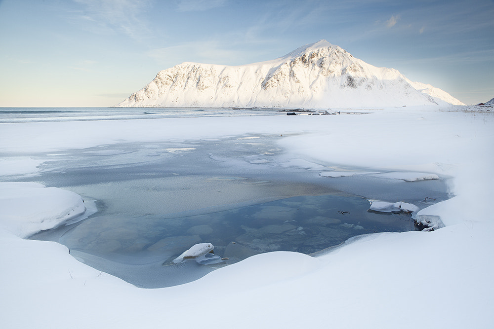 Photograph Frozen Pools by Daniel Hannabuss on 500px