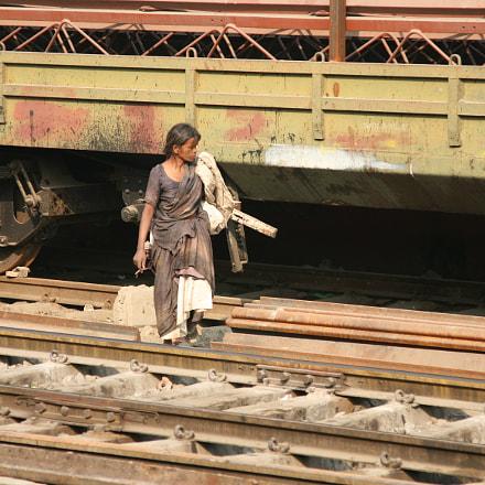New Delhi Railwaystation, Canon EOS 30D, Canon EF24-105mm f/4L IS USM