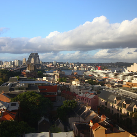 Sydney as evening closes, Canon EOS 550D, Tokina AT-X 116 AF Pro DX 11-16mm f/2.8