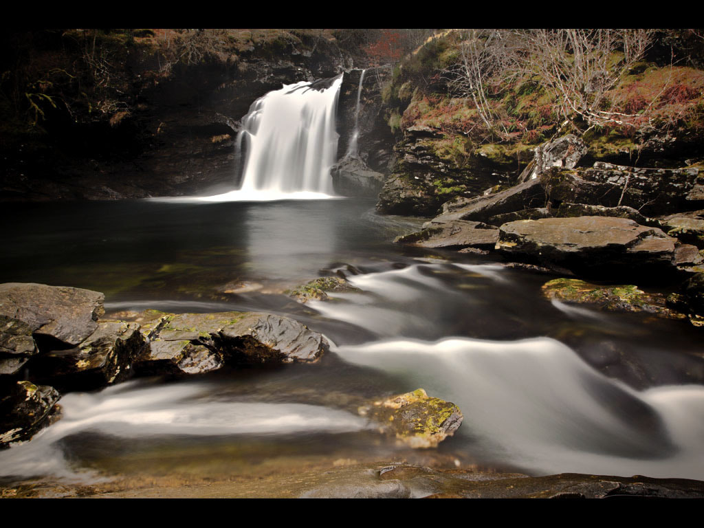 Photograph Falls of Falloch by Andrew Magee on 500px