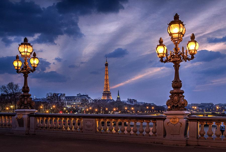 Alexandre III Eiffel Tower by Serge Ramelli on 500px.com