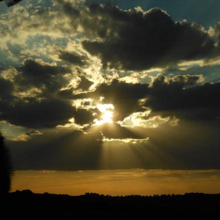 Sunset in Mirabel, Nikon COOLPIX S6200