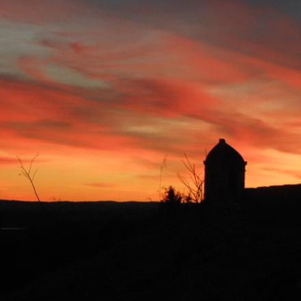 Juromenha sunset, Nikon COOLPIX S6200