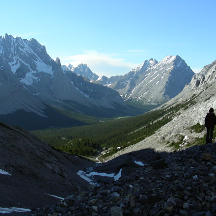 Rae Glacier, Nikon COOLPIX S4