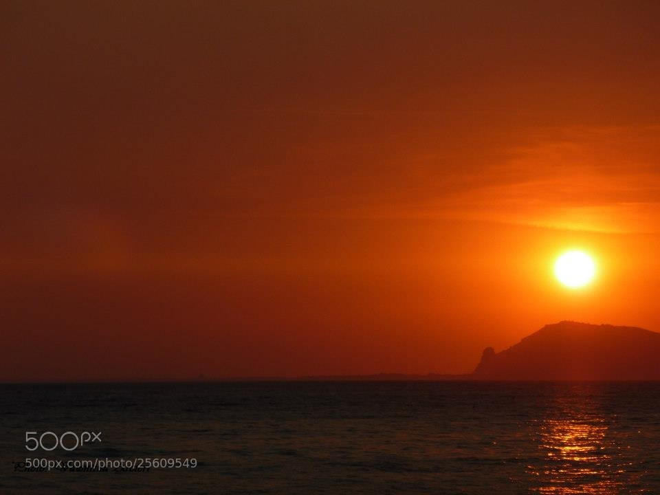 Photograph Sunset in the sea by Valentina Arcieri on 500px