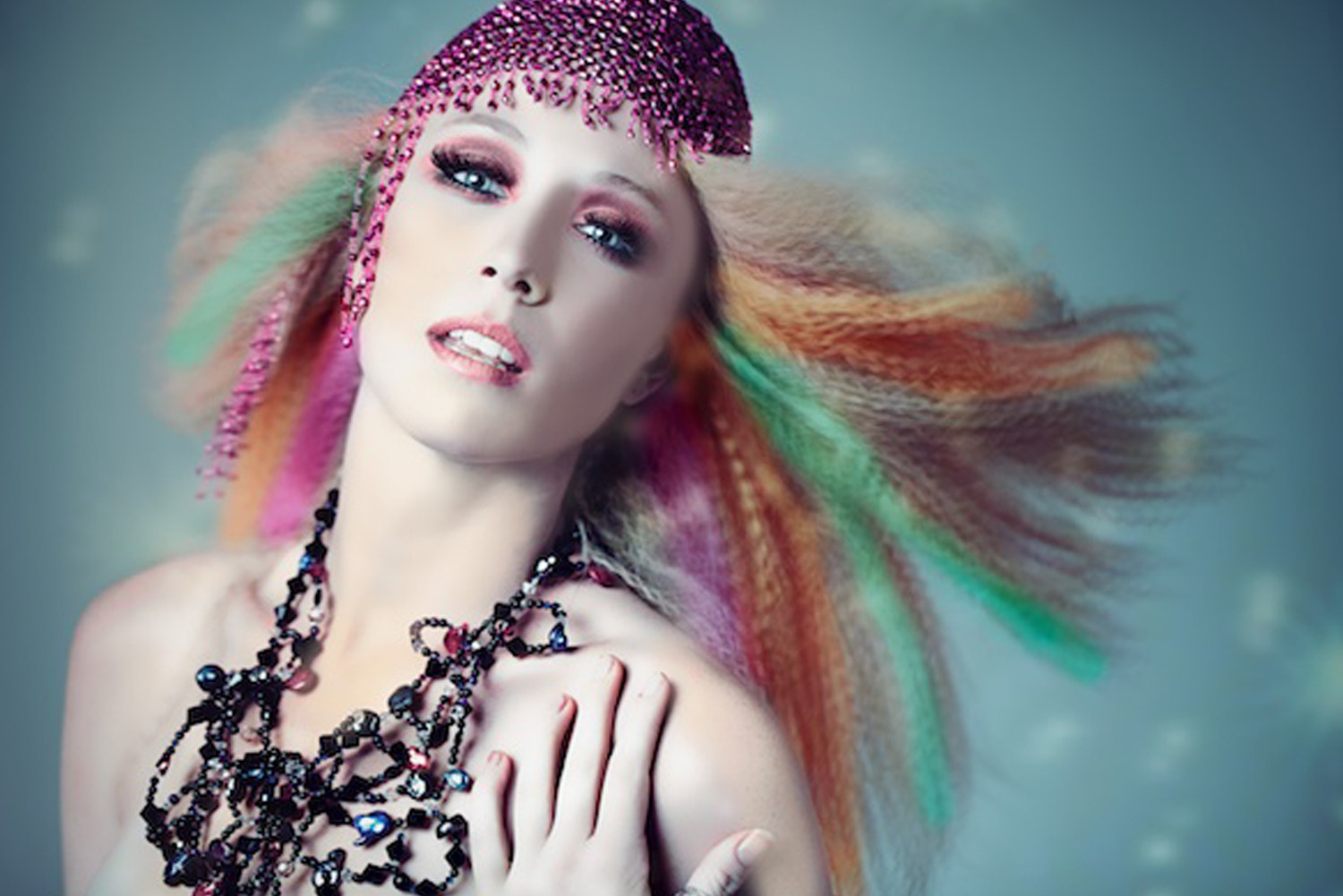 Photograph Hair Design Editorial Shoot by Aalia  Oursbourn  on 500px