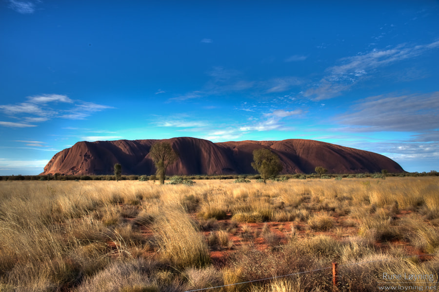 Uluru from the side