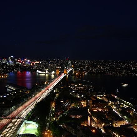 Sydney the night is, Canon EOS 550D