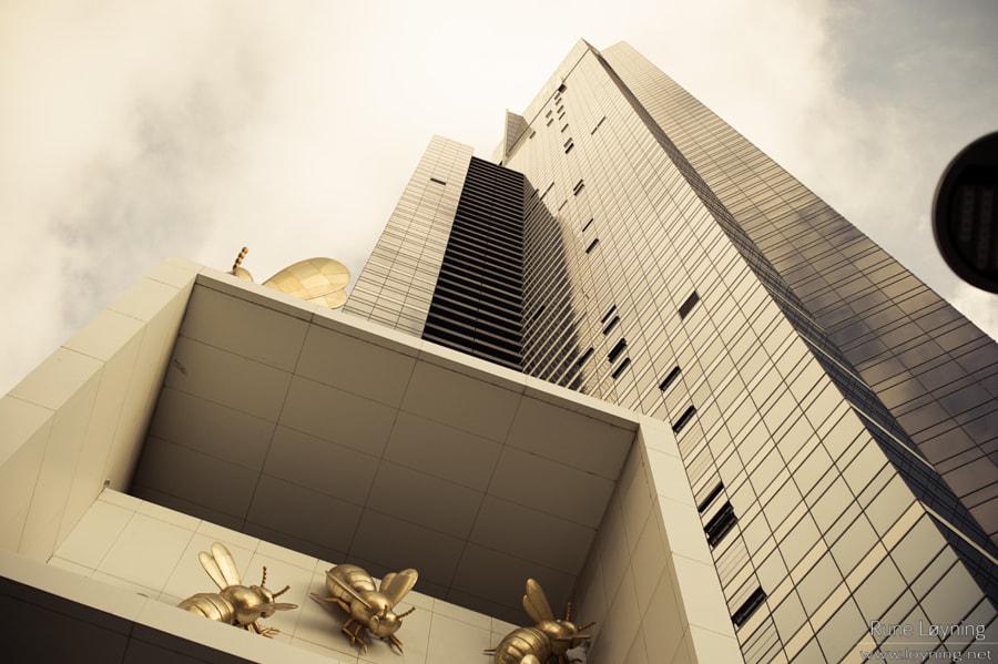 Eureka Tower in Gold