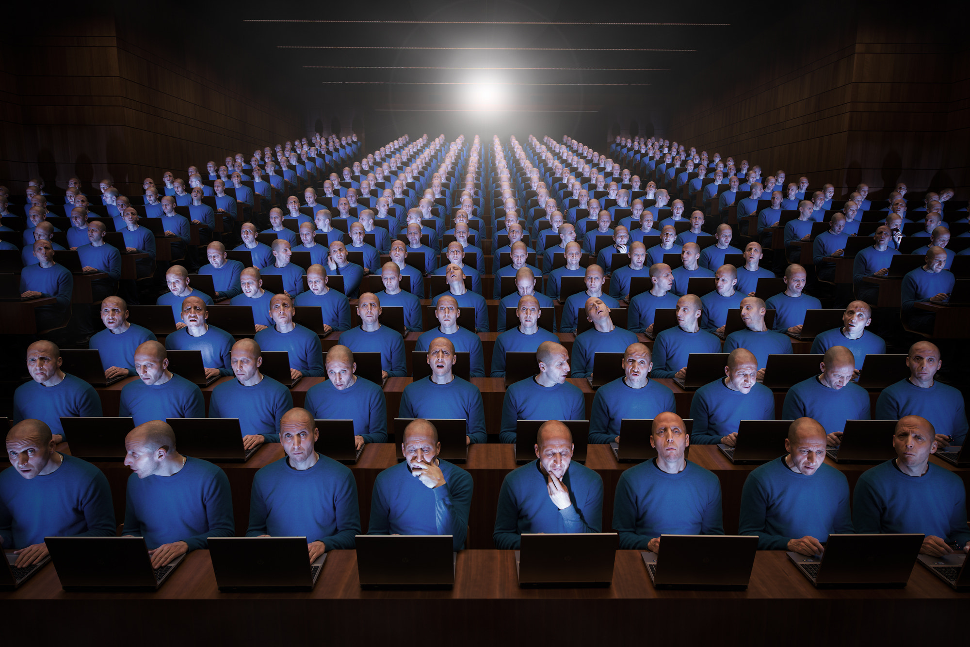 Photograph Silly Clone Academy - Auditorium by John Wilhelm is a photoholic on 500px