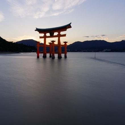 Miyajima Torii (alternative edit), Sony ILCE-7RM2, Sony FE 28mm F2