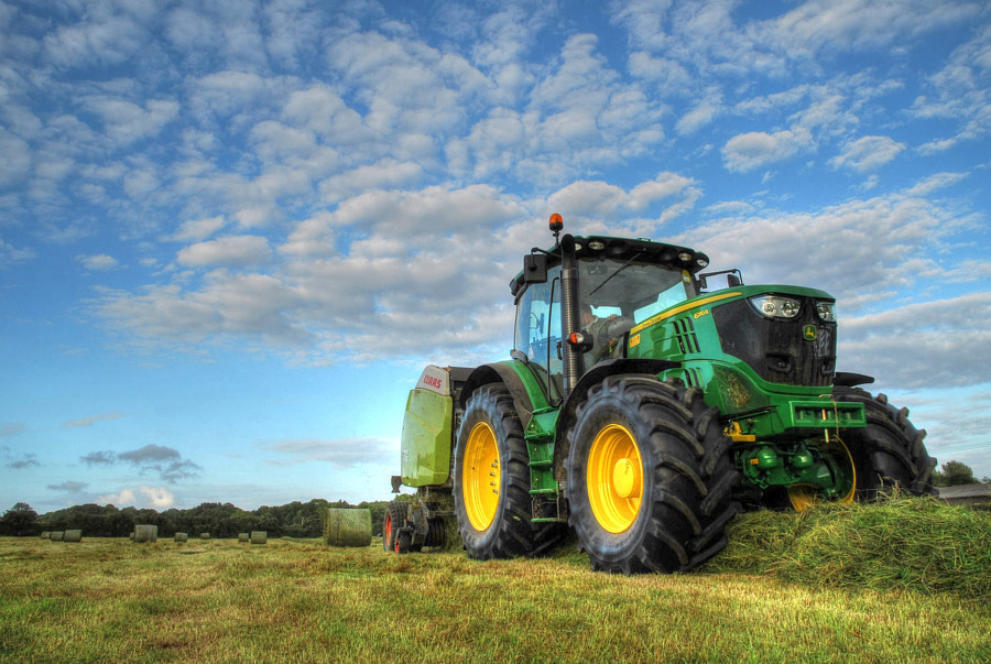 Farming - Baling in Sussex