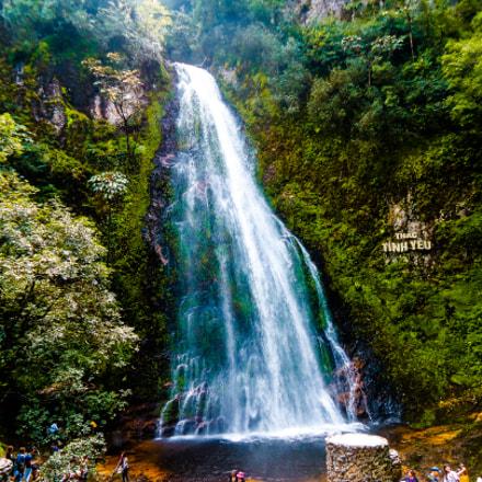 Waterfall, Sony DSC-W320