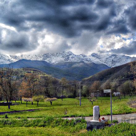 Stormy spring, Nikon COOLPIX L19