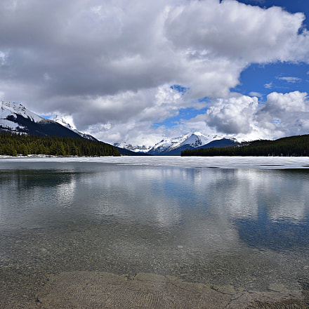Maligne Lake, Jasper National, Nikon D750, Sigma 24-105mm F4 DG OS HSM